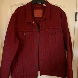 Cranberry Levis Jacket XXL